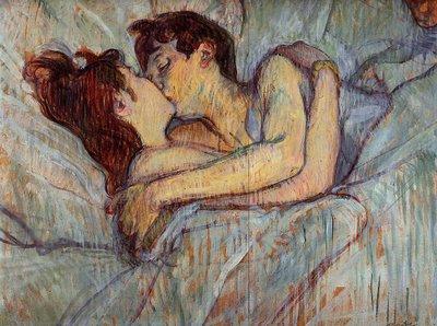 Le Baiser (Henri de Toulouse-Lautrec, 1892)