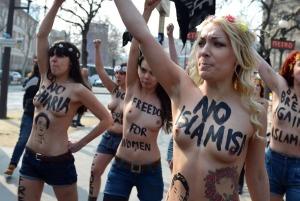 Femen Protest