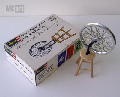 il y a cent ans roue de bicyclette de marcel duchamp 171 le