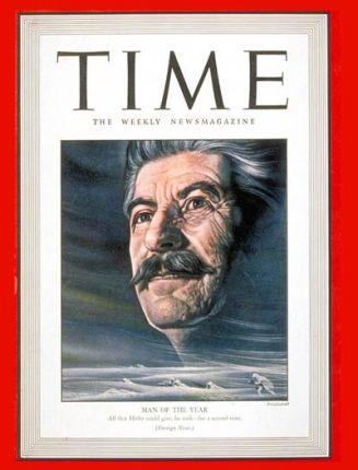 L'homme de l'ann?e du magazine TIME pour 1944