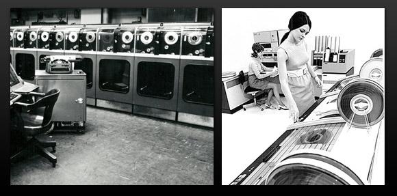 Des ordinateurs, circa 1970