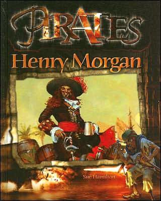 Le corsaire Sir Henry Morgan (1635-1688) représenté ici sur la page couverture d'un roman populaire portant sur les «pirates»