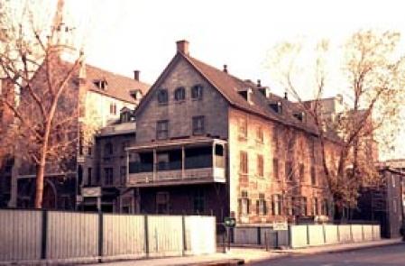 L'Asile de la Providence en 1962. Photo Omer Desjardins