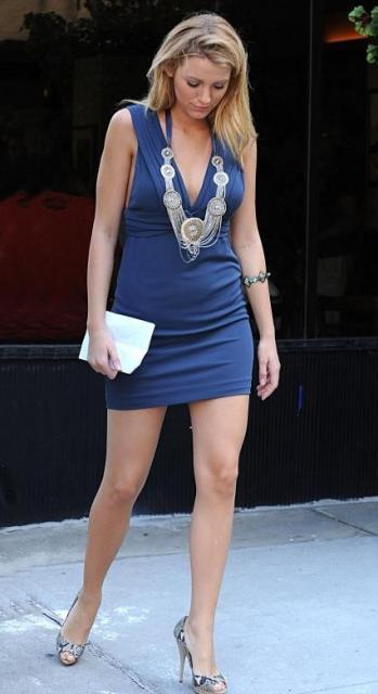 Serena van der Woodsen (jouée par Blake Lively), la «pauvre petite fille riche» du feuilleton GOSSIP GIRL