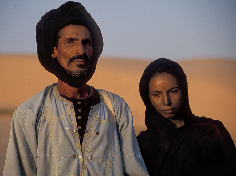 Couple mauritanien mauresque