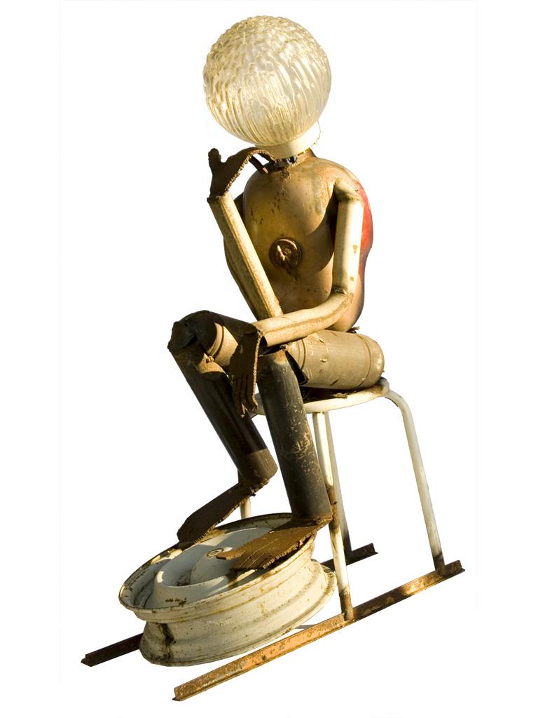 La sculpture À RODIN de Serge Khodalitzky (ne en 1938)