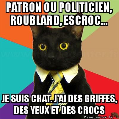 business-cat-patron-ou-politicien-roublard-escroc----je-suis-chat--jai-des-griffes-des-yeux-et-des-crocs