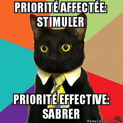 business-cat-priorite-affectee-stimuler-priorite-effective-sabrer