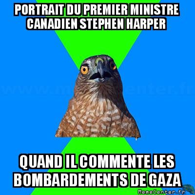 hawkward-portrait-du-premier-ministre-canadien-stephen-harper-quand-il-commente-les-bombardements-de-gaza