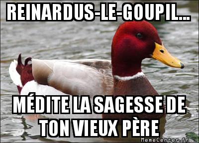 malicious-advice-mallard-reinardus-le-goupil----medite-la-sagesse-de-ton-vieux-pere