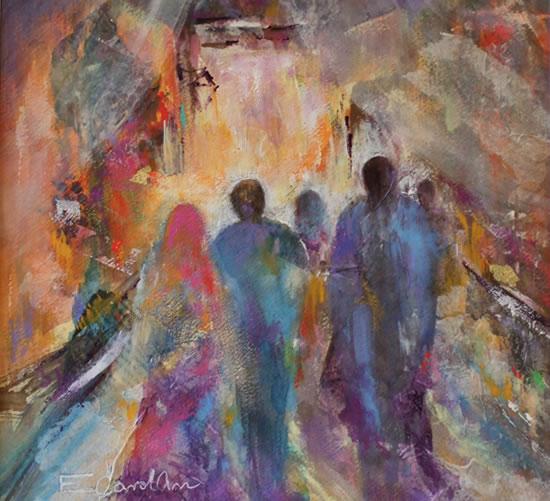 Le Souk, par Elizabeth Carolan