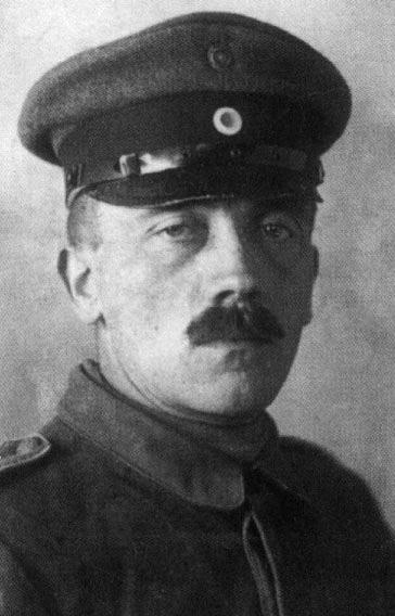 Adolf Hitler, en 1914