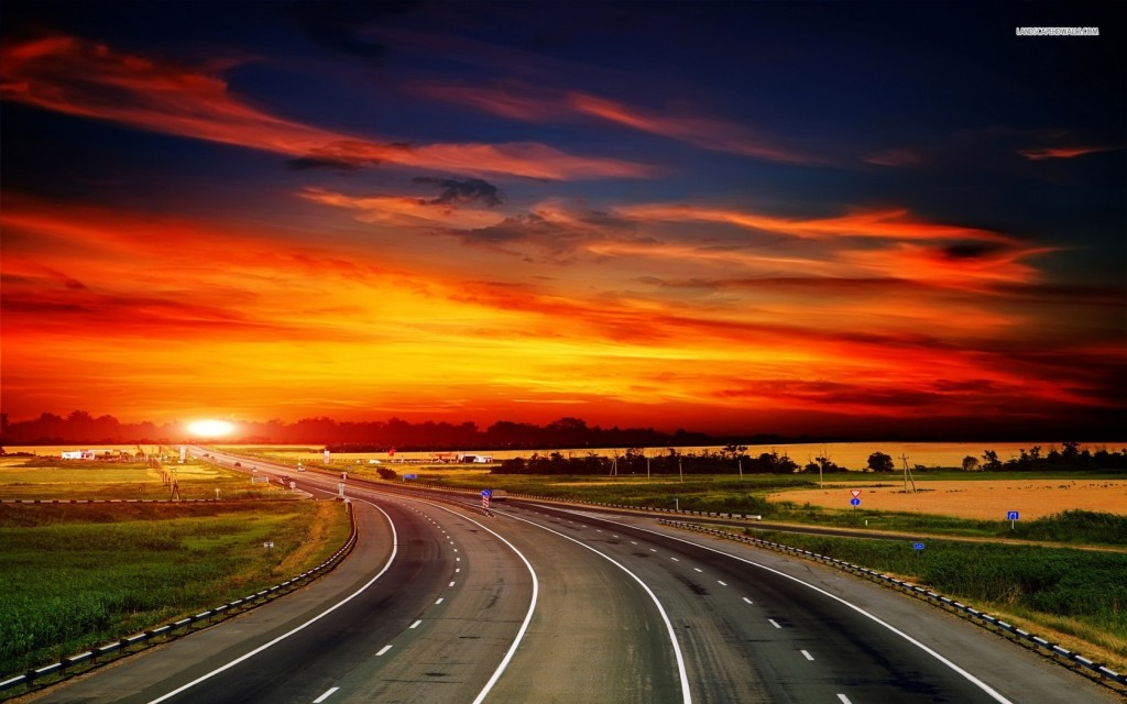 autoroute-et-soleil