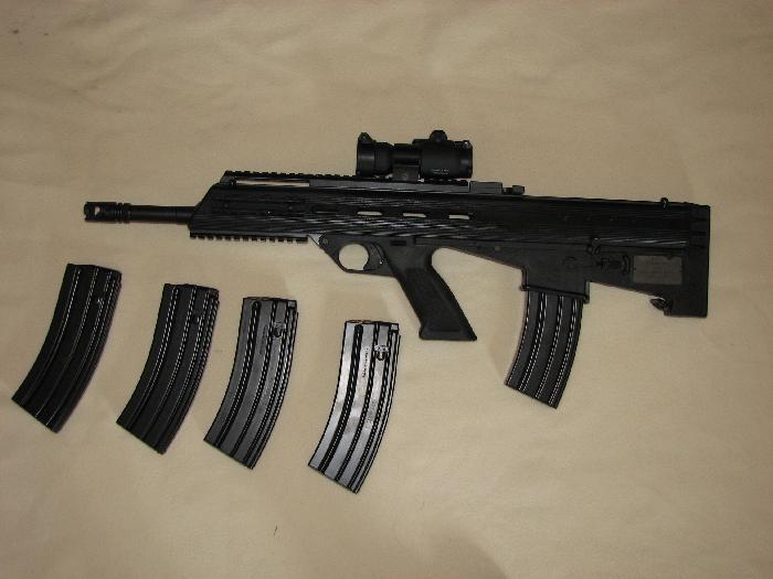 la mitraillette d'assaut Bushmaster