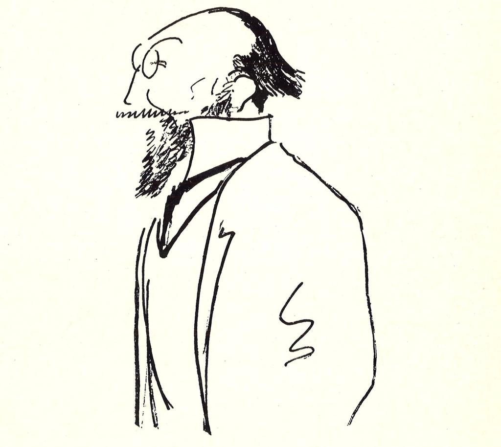 Érik Satie par Alfred Frueh