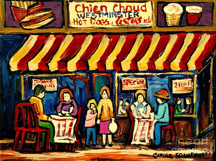 Chien chaud, Hot dog, Westmister de Carole Spandau