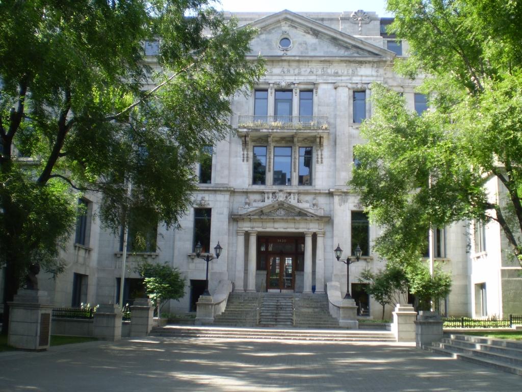 Pavillon Athanase-David (rectorat de l'UQÀM), Rue Saint-Denis, Montréal