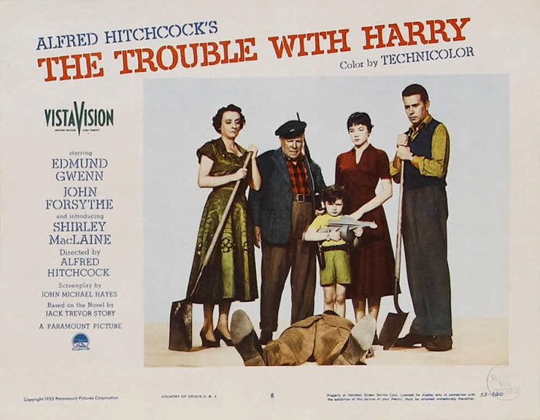 Poster - Trouble With Harry, The_12