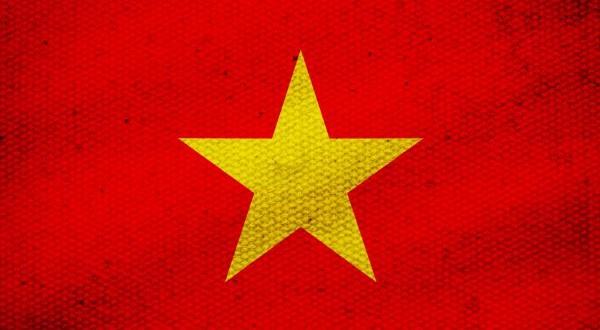Vietnam-Drapeau