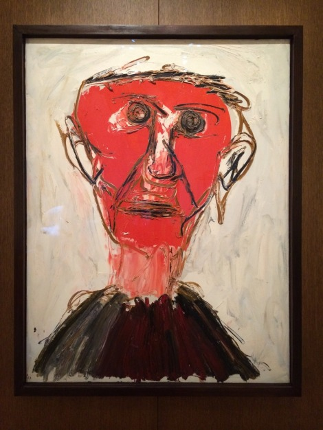 PORTRAIT DE SIR HERBERT READ (de Karel Appel)