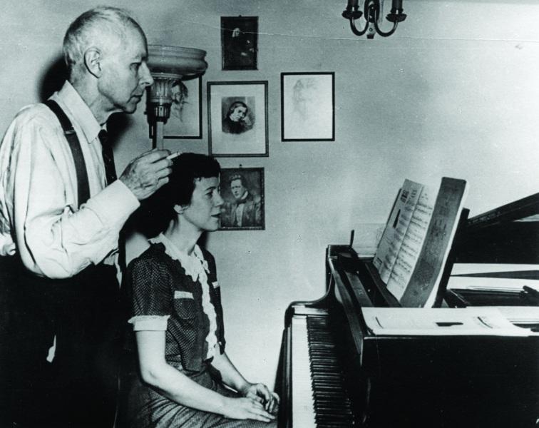 Bartok et son epouse
