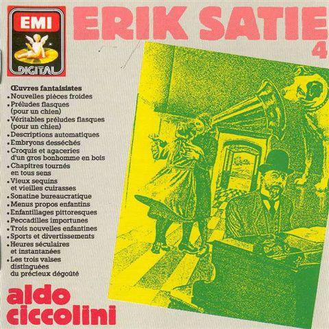 Erik Satie - Aldo Ciccolini - Oeuvres Fantaisistes