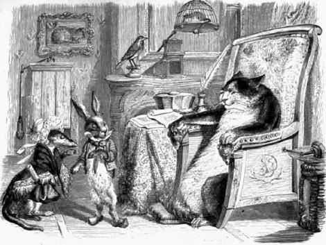 Le chat, la belette et le petit lapin (Lafontaine)