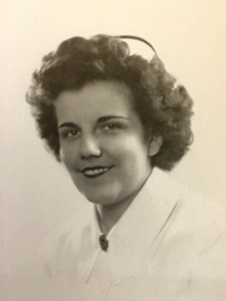 Garde Berthe-Aline Rioux, circa 1944