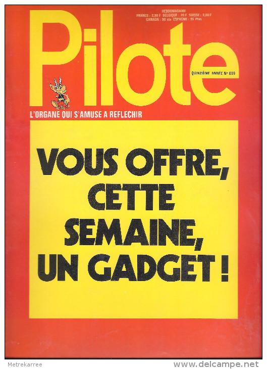 Pilote-Gadget