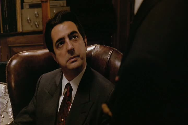 Joey Zasa (joué par Joe Mantegna) dans THE GODFATHER III (1990)